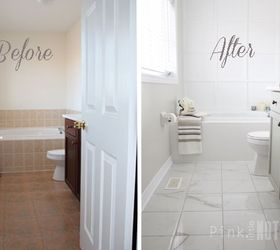 Yes You Really Can Paint Tiles Rust Oleum Tile Transformations Kit,  Bathroom Ideas, Painting
