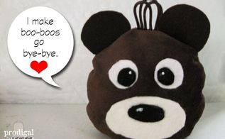 how to make a boo boo bear rice ice and heat pack, crafts, diy, how to
