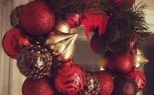 easy christmas diy decor, christmas decorations, home decor, seasonal holiday decor