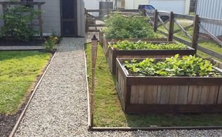 using pallets to make raised garden beds, container gardening, gardening, pallet, raised garden beds