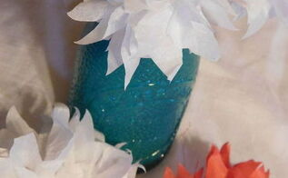 tissue paper flower how to, crafts, how to