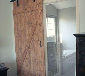 Diy Distressed Sliding Barn Door, Bathroom Ideas, Diy, Doors, Woodworking  Projects Part 15