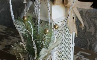 christmas lantern decorate it for winter, crafts, repurposing upcycling, seasonal holiday decor