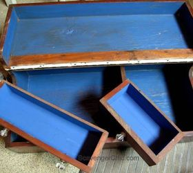 Carpenters Tool Box Flea Market Flip Repurposed To Table, Chalk Paint,  Painted Furniture,