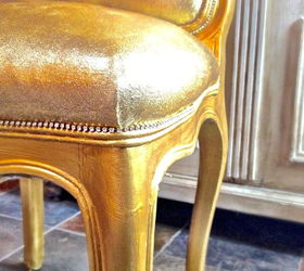 How To Glitter Upholstered Furniture With Our Cracking Or Chipping,  Decoupage, How To,