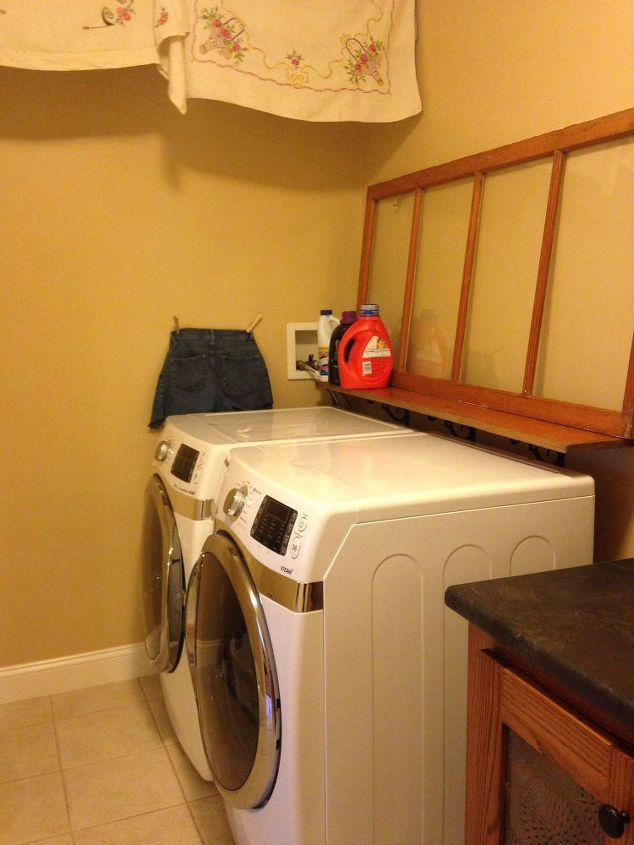 laundry room redeux, diy, home improvement, laundry rooms, organizing