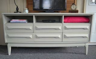 curbside dresser rescue painted, painted furniture