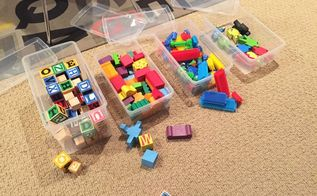 tips to clean up kids toys faster keep them organized, cleaning tips, organizing