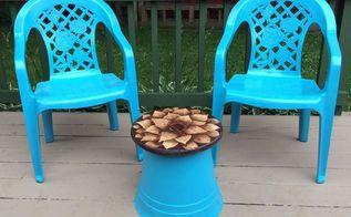 diy patio table, diy, painted furniture, patio