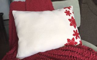 no sew placemat pillow, crafts