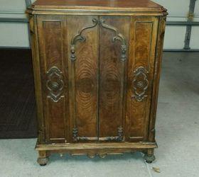 s Vintage Radio Cabinet Redo  Hometalk