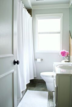 clean a vinyl shower curtain liner, bathroom ideas, cleaning tips