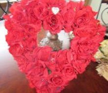 q valentine wreath does it need a ribbon, crafts, seasonal holiday decor, valentines day ideas, wreaths