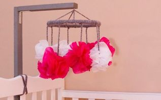 diy baby mobile, crafts, how to