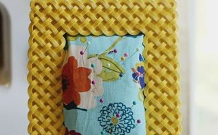 diy picture frame pin cushion, crafts