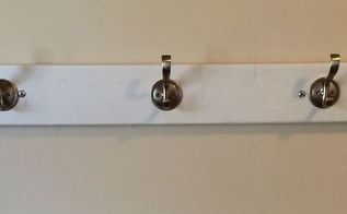 create your own coatrack from scrap wood, wall decor
