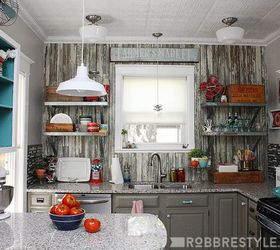 Diy Vintage Farmhouse Kitchen Remodel, Diy, Home Improvement, Kitchen  Design, Shelving Ideas