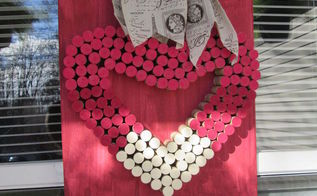 why not make wine corks into art, crafts, home decor, outdoor living, repurposing upcycling, seasonal holiday decor