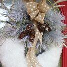 diy winter wreath, how to, seasonal holiday decor, wreaths