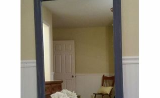 diy mirror makeover, painted furniture, wall decor