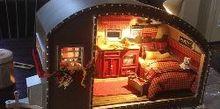 diy miniature tiny trailer dollhouse, crafts, My Tiny Trailer