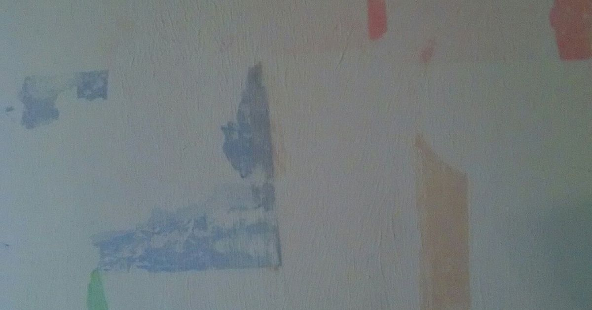 How Do You Cover Colored Tissue Paper On Home Interior Walls Hometalk