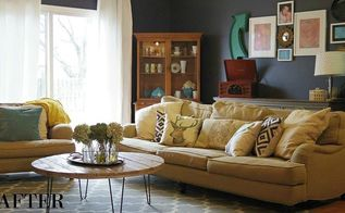 nautica inspired living room makeover, home decor