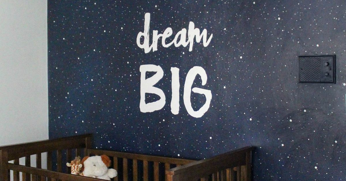 . Painting a Starry Sky Mural   Hometalk