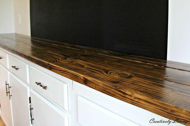 Diy Wood Counter For Under 50 Hometalk
