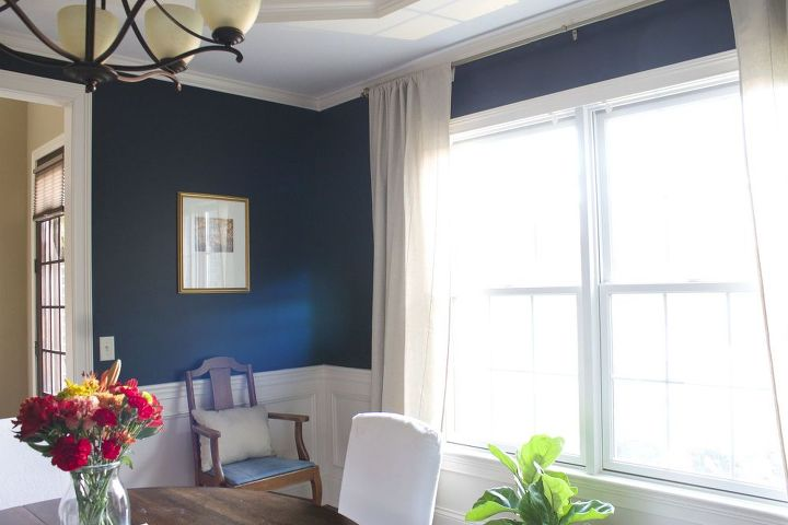 my favorite dark blue wall color a year later hometalk