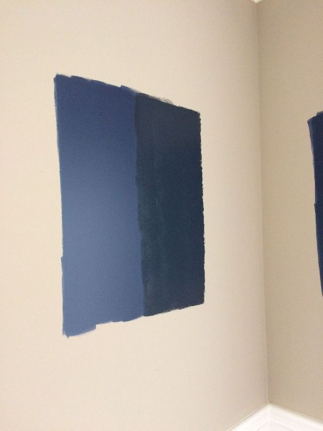 Dark blue wall paint abstract sea dark blue decoration for Dark blue carpet what color walls