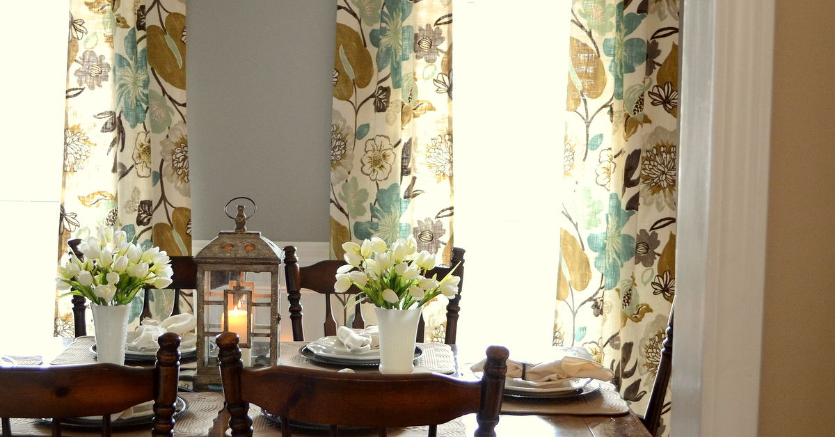 Dinning room curtains