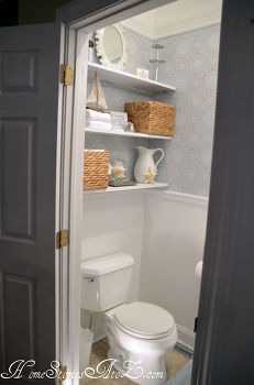 Half Bath Makeovers Idea Box By From My Front Porch To