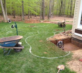 Amazing Backyard Waterfall Fish Pond With Patio Transformation Greece Ny By  Acorn, Outdoor Living,