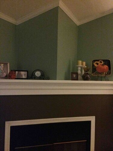 Wall Decor For Above Fireplace : Empty walls above fireplace hometalk