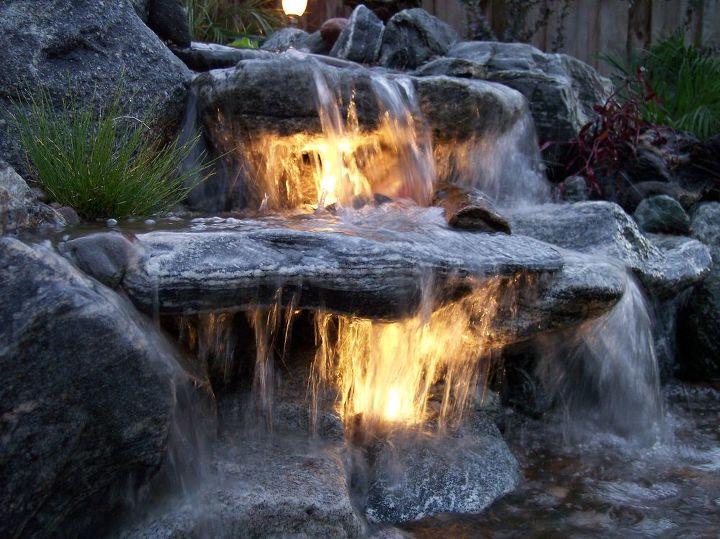 Underwater Lighting In A Waterfall Hometalk