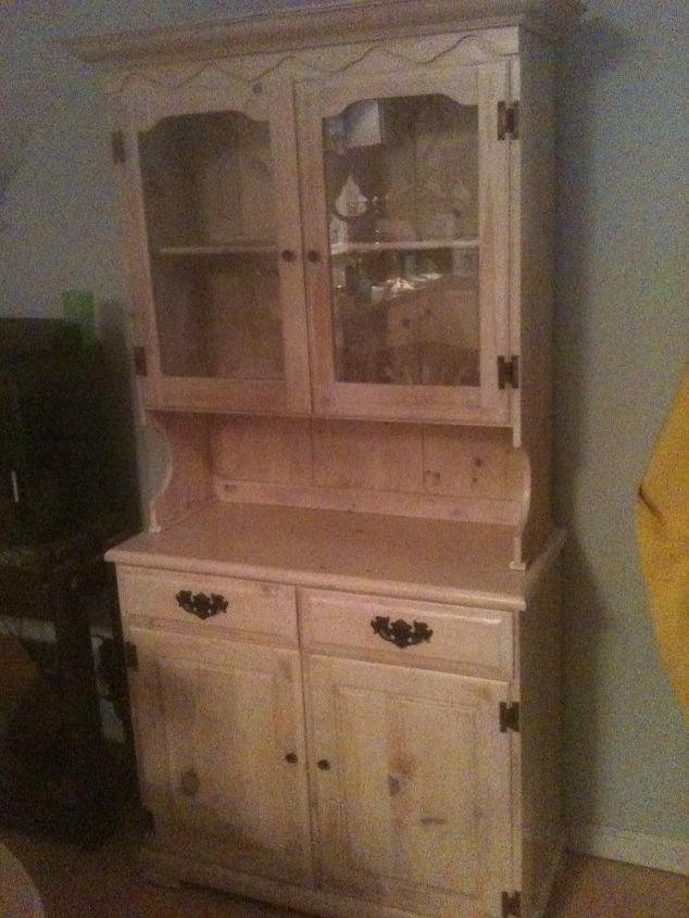 Old china cabinet restoration hometalk for Restoring old kitchen cabinets