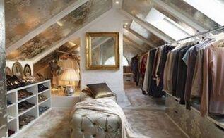 attic closet, closet