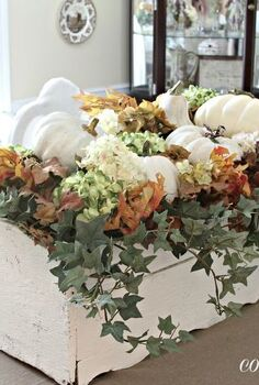 windowbox centerpiece for fall, seasonal holiday d cor