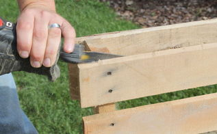 building with pallets how to easily disassemble a pallet in minutes, pallet projects, A sawzall can make all the difference