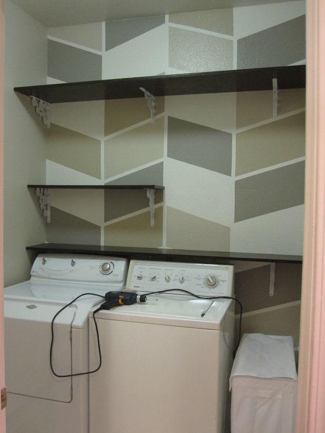 124 laundry room overhaul pass through to garage custom diy shelves labels storage. Black Bedroom Furniture Sets. Home Design Ideas