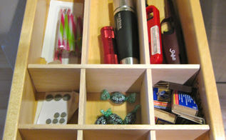 diy drawer organizer, kitchen design, organizing, woodworking projects