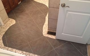 bathroom floor tile river, bathroom ideas, tile flooring, tiling