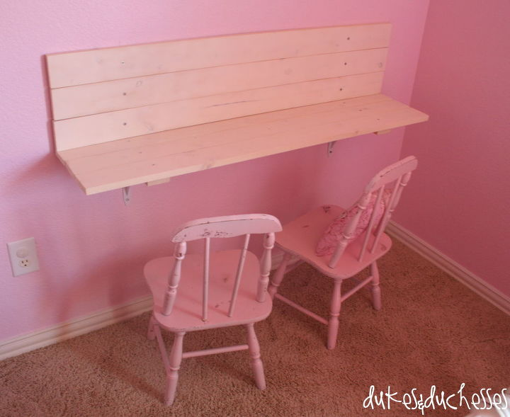 Built In Wall Desk For Kids Bedroom Ideas Diy Painted Furniture Storage