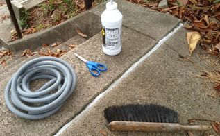 repairing cracks in concrete 7 minutes is all you need, concrete masonry, home maintenance repairs