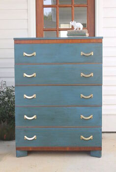 furniture makeover, chalk paint, painted furniture, Dresser Makeover