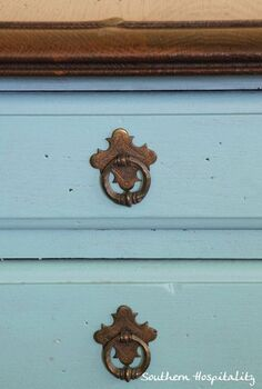 updated with paint, chalk paint, painted furniture, Provence by Annie Sloan