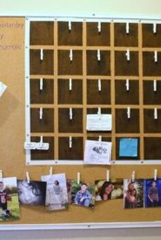 family calendar command center, cleaning tips, crafts, organizing