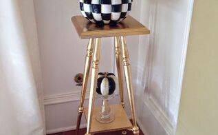 how to gold leafing, how to, painted furniture