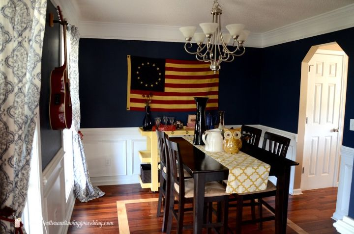 Americana Home Decor 20 ways to add americana style to your home hgtv Dining Room Ideas Americana Decor Dining Room Ideas Home Decor Wall Decor